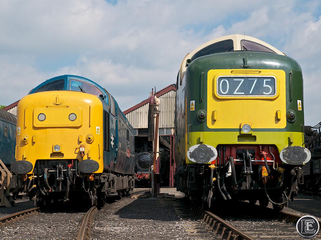 "55009, 55019, ""Class 55"", Deltic"