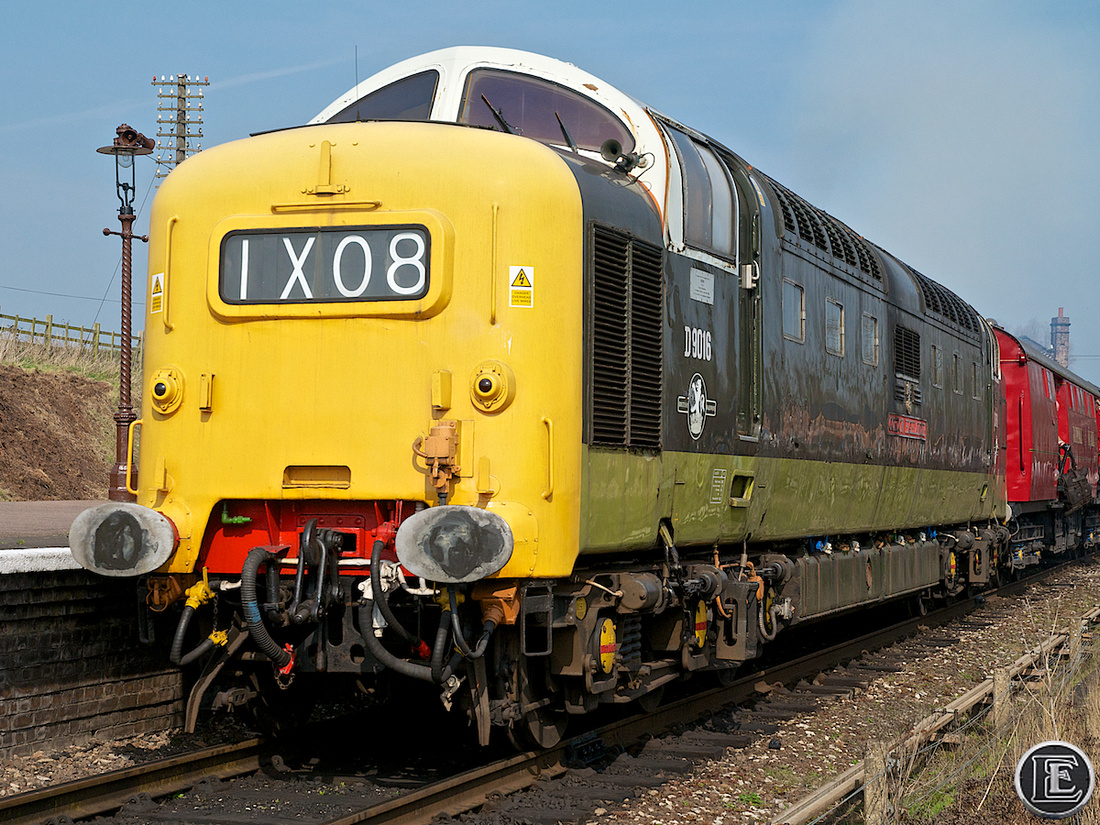 "55016, ""Class 55"", Deltic"