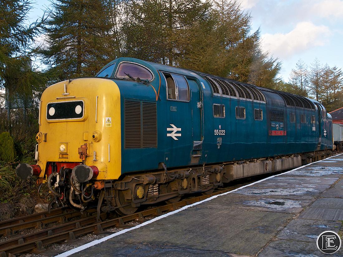 "55022, ""Class 55"", Deltic"