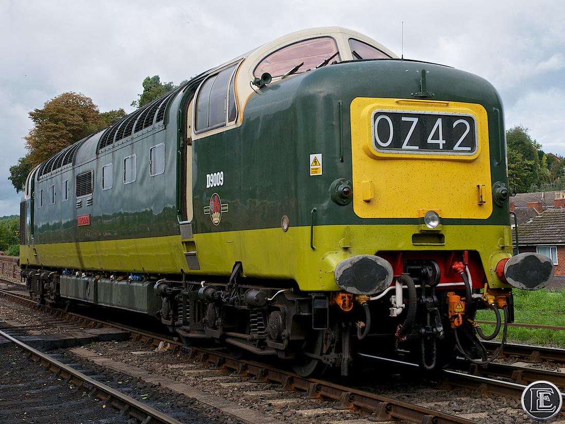 "55009, ""Class 55"", Deltic"